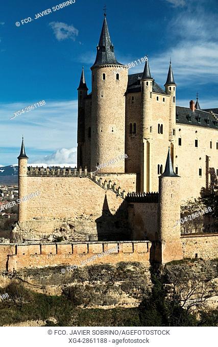 Alcázar de Segovia - Castilla-León - España - Europa