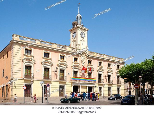 Ayuntamiento de Alcalá de Henares. Madrid. World Heritage City. Spain