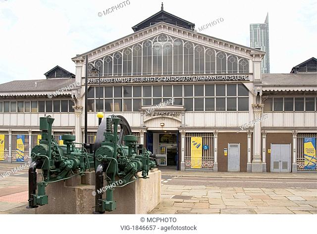 The Museum of Science and Industry in Manchester (MOSI), located in Manchester, England, is a large museum devoted to the development of science, technology