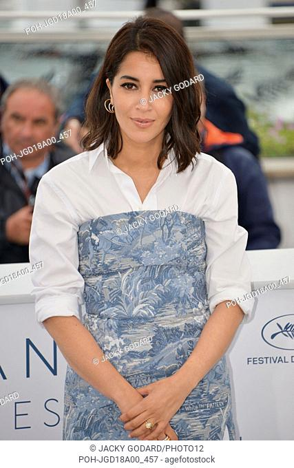 Leïla Bekhti Photocall of the film 'Le Grand Bain' (Sink or Swim) 71st Cannes Film Festival May 13, 2018 Photo Jacky Godard