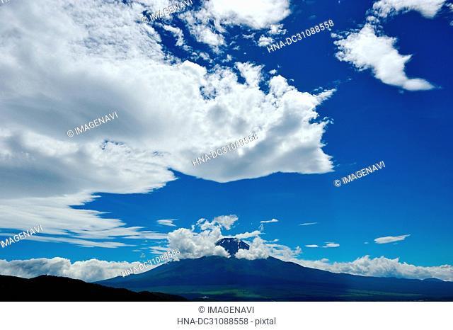 Mt. Fuji and Cloud