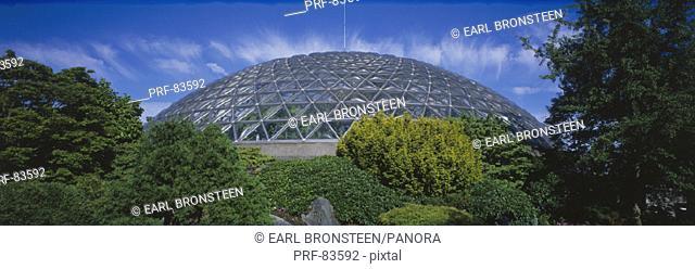 Geodesic Dome Queen Elizabeth Park Vancouver British Columbia Canada