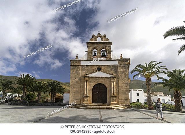 church Nuestra Senora de la Pena in Vega de Rio Palma, Fuerteventura, Canary Islands, Spain