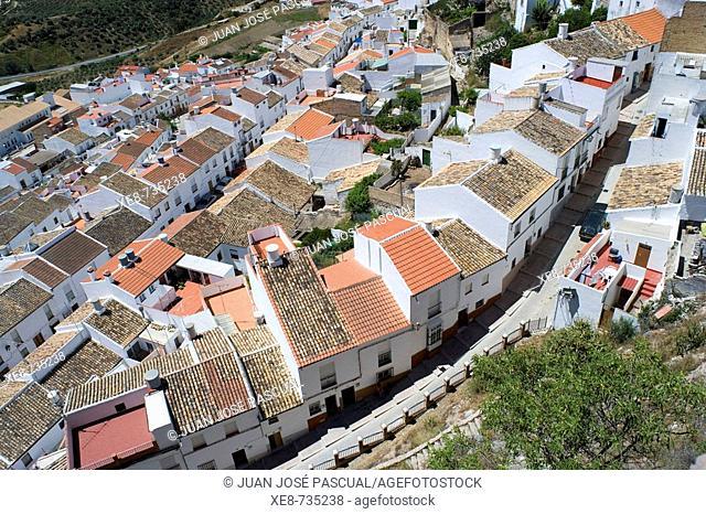 Olvera. Cadiz province, Andalucia, Spain