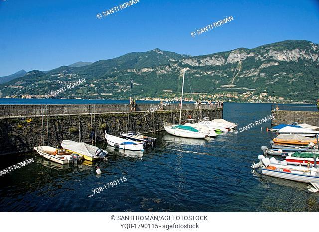 boats, Como lake, bellagio, lombardy, italy