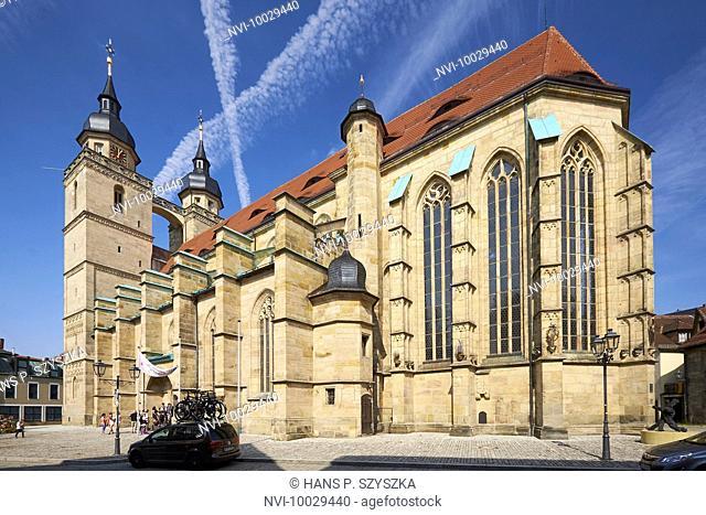 City Church Holy Trinity, Bayreuth, Upper Franconia, Bavaria, Germany