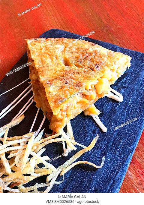 Spanish omelet. Spain
