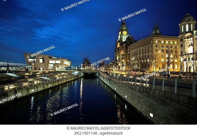 Liverpool Pier Head Ferry Terminal, Liverpool, UK