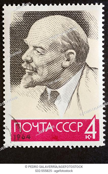 Russian postage stamp