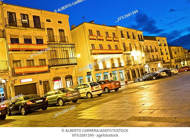 Traditional Architecture, Ciudad Rodrigo, Medieval Town, Spanish Property of Cultural Interest, Historic Artistic Grouping, Salamanca, Castilla y León, Spain