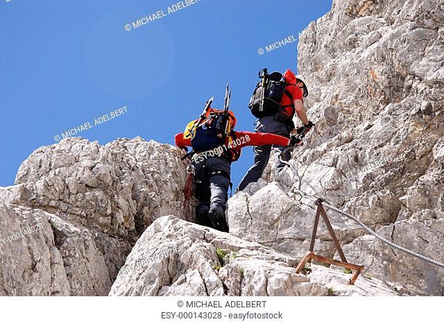 Klettersteig zur Zugspitze