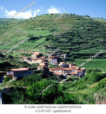 Montenegro de Cameros,. Region of Pinares-El Valle, Soria province, Castile-Leon, Spain