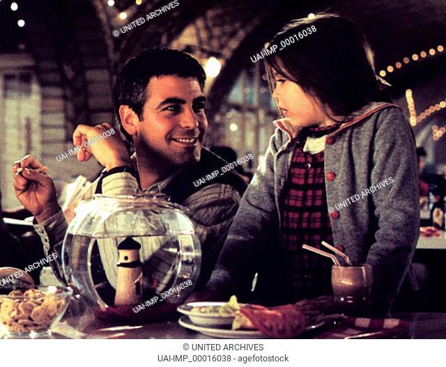 Tage wie dieser ..., (ONE FINE DAY) USA 1997, Regie: Michael Hoffman, GEORGE CLOONEY, MAE WHITMAN