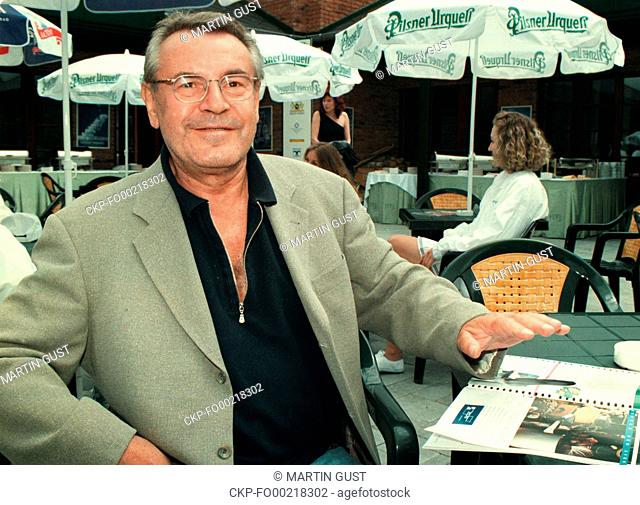 ***FILE PHOTO FROM JULY 1997*** Czech film director of Czech origin Milos Forman, who died at the age of 86 in the USA on Friday