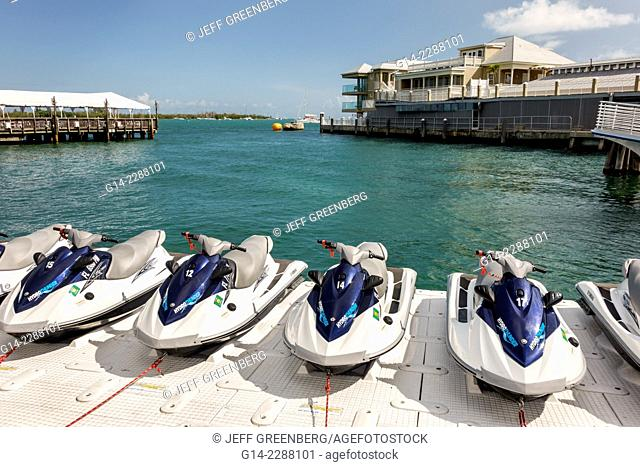 Florida, Key West, Gulf of Mexico, jet ski, wave runner, rentals, for rent, water, dock