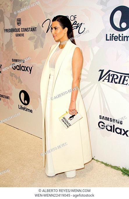Variety's Power of Women: New York luncheon at Cipriani Midtown in New York City Featuring: Kim Kardashian Where: New York City, New York
