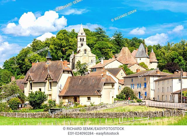 Châteauneuf, Burgundy, France