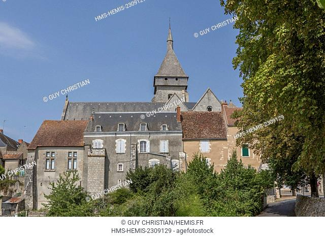 France, Indre, Saint Marcel, Saint Marcel church