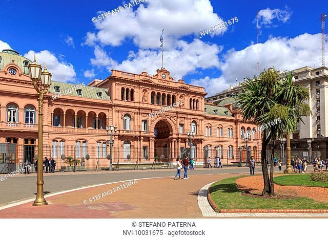 Casa Rosada, Presidential Palace, Buenos Aires, Argentina, South America