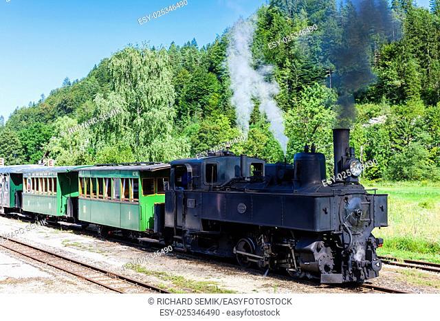 steam train, Lunz am See, Lower Austria, Austria