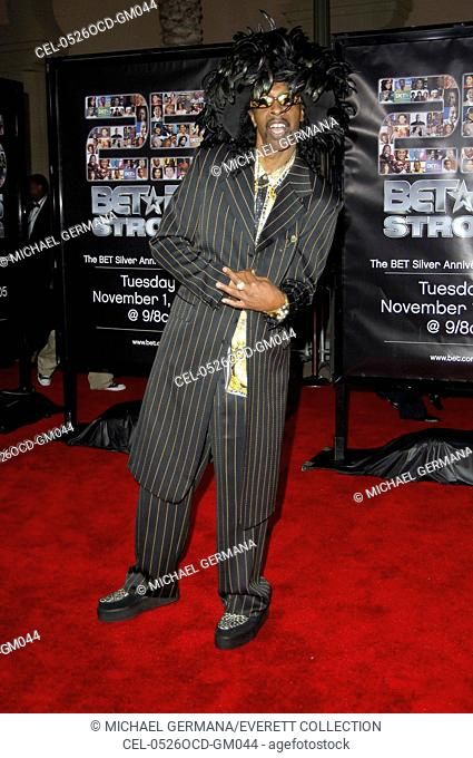 Bootsy Collins at arrivals for BET Silver Anniversary Celebration, The Shrine Auditorium, Los Angeles, CA, October 26, 2005