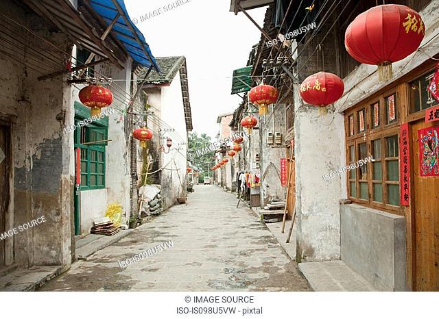 China, guangxi province, xingping street