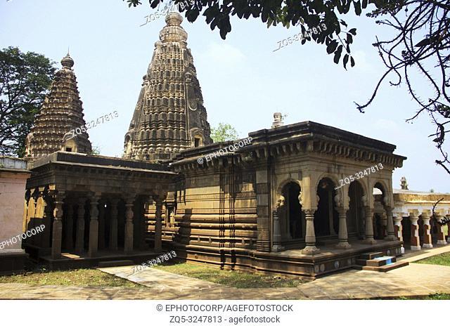 Lord Shiva temple at Panchganga Ghat Kolhapur, Maharashtra