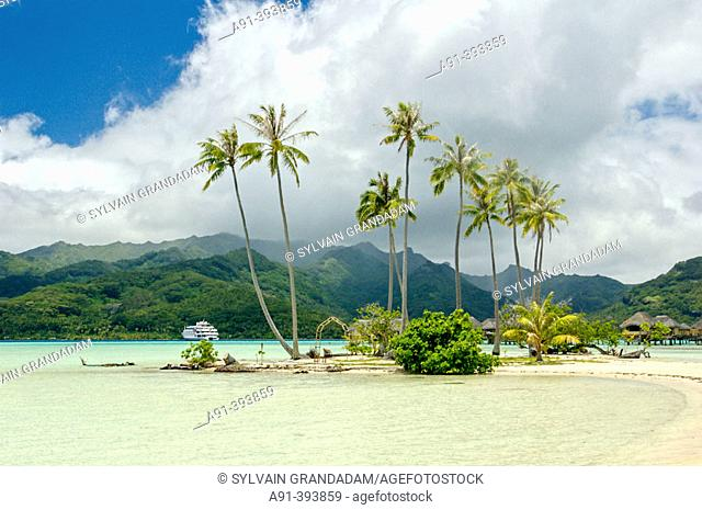 Tahaa island. French Polynesia. South Pacific