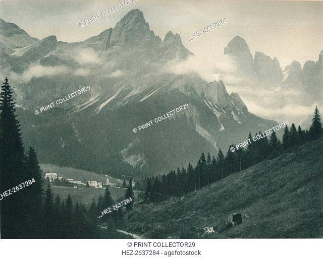 Pala Group, San Martino di Castrozza, Dolomites, Italy, 1927. Artist: Eugen Poppel