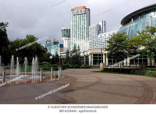 Hotels at Fallsview, Embassy Suites, Niagara Falls, Ontario Province, Canada