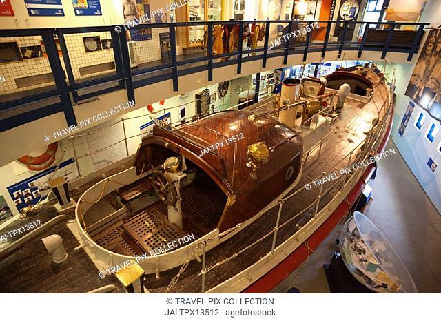England, East Anglia, Norfolk, Cromer, Lifeboat Museum