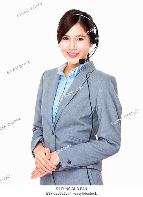 Call centre help desk supportor
