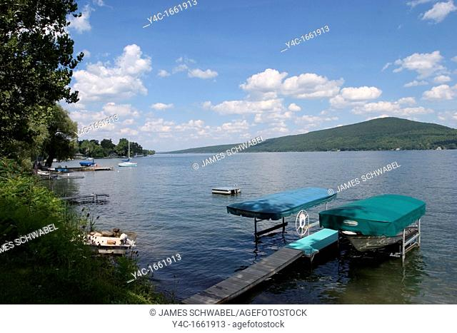 Canandaigua Lake in the Finger Lakes region of New Yrok State