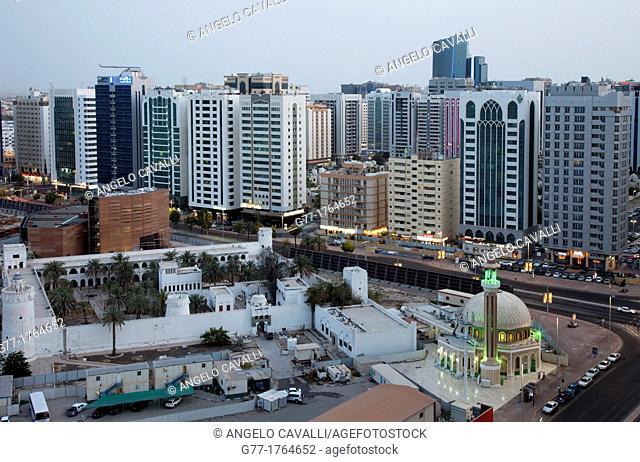 United Arab Emirates Abu Dhabi. The first fortress of the Abu Dhabi Emirate