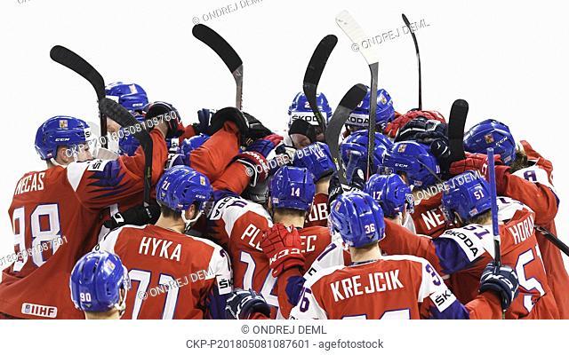 Fahne Banner 2018 Ice Hockey World Championship Denmark Kopenhagen Herning # 17 Memorabilia Eishockey