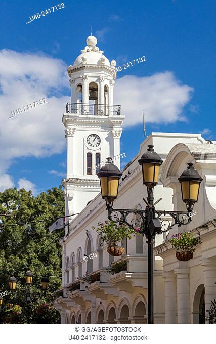 Dominican Republic, Tower of Palacio Consistorial