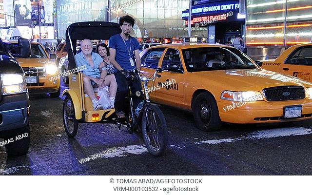 Horse-Drawn Carriage Rides, 42nd Street, Times Square, New York City, USA