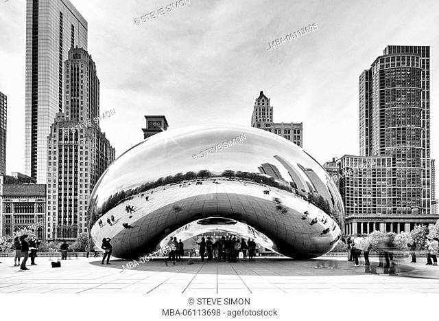 Cloud Gate, The Big Bean, Chicago
