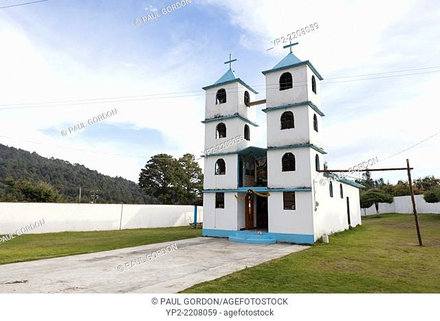 Church of San Isidro Labrador in the village of Macheros - Donato Guerra, State of Mexico, Mexico