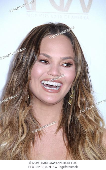 Chrissy Teigen 01/28/2017 The 2017 Producers Guild Awards held at The Beverly Hilton in Beverly Hills, CA Photo by Izumi Hasegawa / HNW / PictureLux