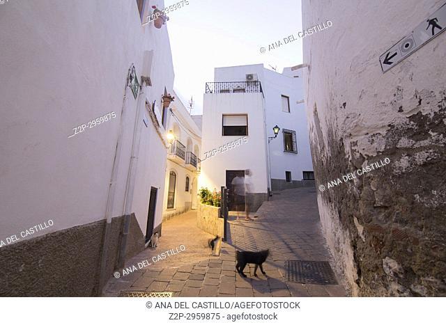 Mojacar white village in Almeria Spain