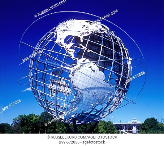 Unisphere, Flushing Meadows Corona Park, Queens, New York, USA