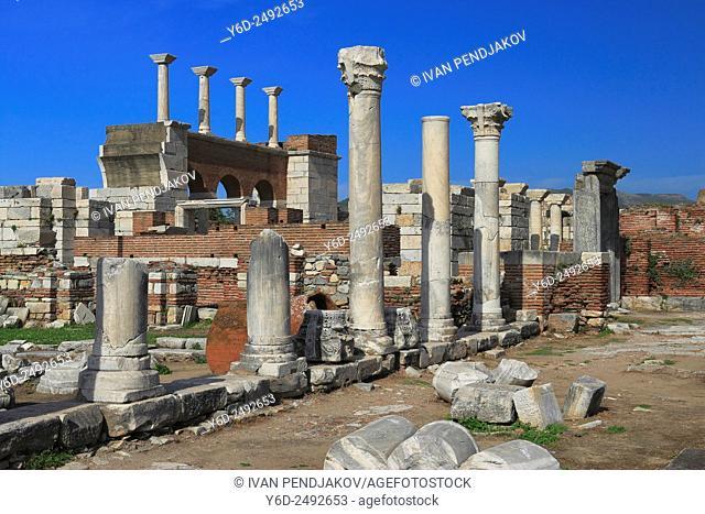 Basilica of St John, Selcuk, Turkey