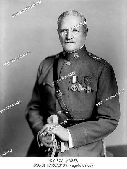 U.S. General John J. Pershing, Portrait, circa 1920