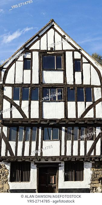 16th century timber framed building on The Quayside, Newcastle upon Tyne, England, United Kingdom