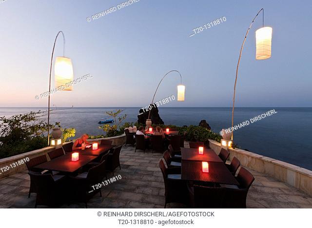 Terrace of Alam Batu Resort, Bali, Indonesia