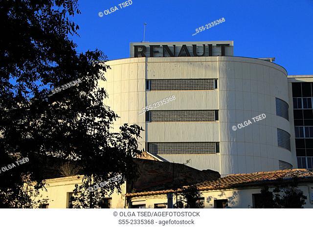 Renault Retail Group Esplugues. Esplugues de Llobregat, Barcelona province, Catalonia, Spain