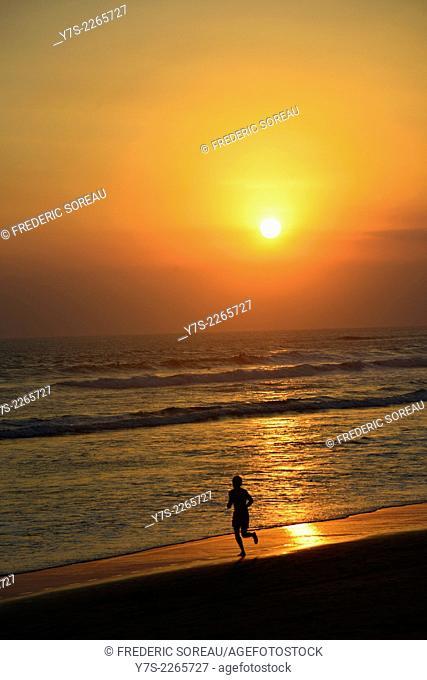 Sunset in Canggu beach, Bali, Indonesia, South East Asia