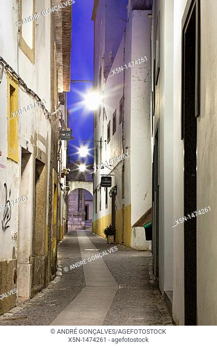Streets of Evora, Alentejo Portugal, Europe