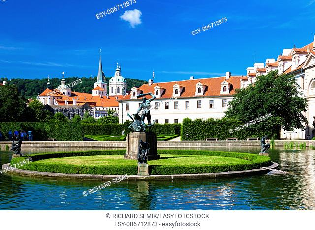 Valdstejnska Garden, Prague, Czech Republic